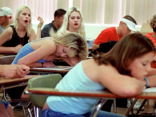 teenagers need more sleep benefits of starting high school classes later Sleep scientists say school days should start later for better learning, some researchers say school days should start at 10 am (tim pannell/corbis) by.